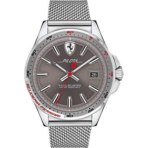 Reloj Solo Tiempo Hombre Establo Ferrari Casual COD. fer0830492