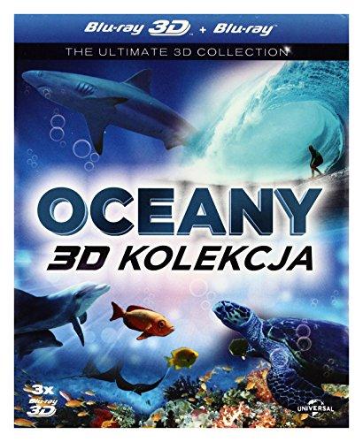 Amazing Ocean / The Ultimate Wave Tahiti / Ocean Wonderland (BOX) [3Blu-Ray 3D] [Region Free] (Deutsche Sprache. Deutsche Untertitel)