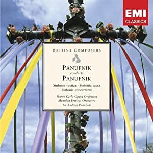 Panufnik Conducts Panufnik: Sinfonia Rustica, Sinfonia Sacra