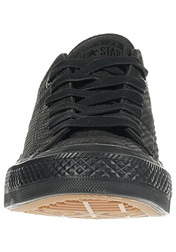 Converse Mens Chuck Taylor II Low Lux Leather Trainers Nero