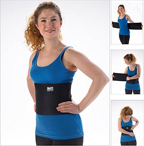 Bauchweggürtel für Frauen und Männer, Fitnessgürtel, Fettweggürtel, Fettweggurt, Bauchformer