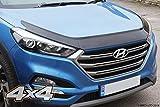 Autoclover Motorhaubenschutz Set für Hyundai Tucson 2015+, 3-teilig