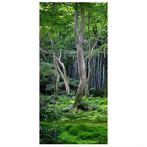 Bilderwelten Raumteiler Japanischer Wald 250x120cm inkl. transparenter Halterung