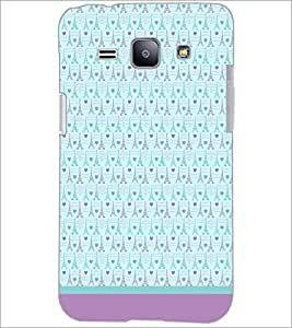 PrintDhaba Tower Pattern D-1804 Back Case Cover for SAMSUNG GALAXY J1 (Multi-Coloured)