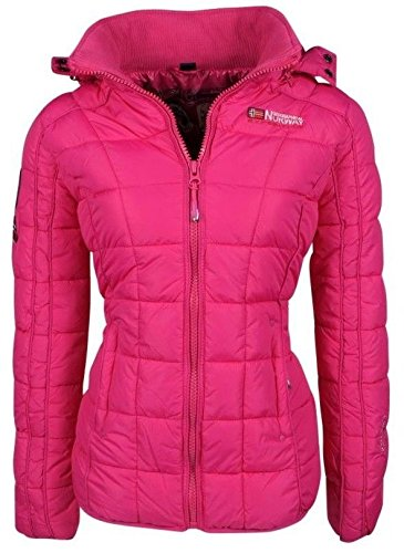 Geographical Norway - Doudoune Femme Geographical Norway Berechite Fuchsia-Taille - 4