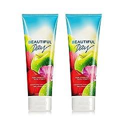 Bath & Body Works Beautiful Day Triple Moisture Body Cream 8 Oz (2-pack)