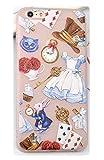 Phone Kandy Alice in Wonderlad White Rabbit Disney Coque Souple Givré Transparent en...