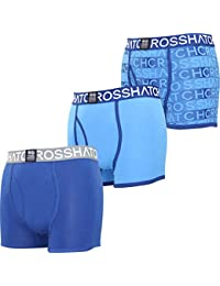 Crosshatch Men's Checkham Boxer Shorts pack of 3