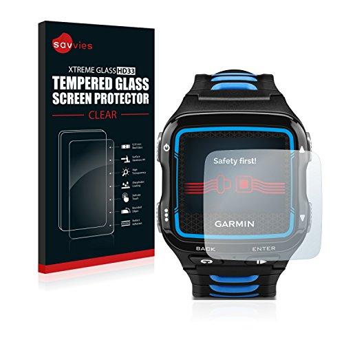 Garmin Forerunner 920XT Cristal Templado [1 Pack] Protector Pantalla Vidrio - Dureza 9H