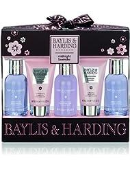 Baylis/Harding PLC Midnight Lavande Coffret Cadeau 5 Pièces