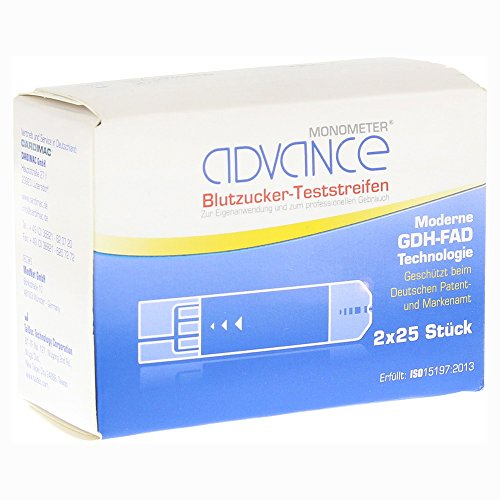 ADVANCE MONOMETER BLZ GDH, 2X25 St