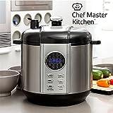 Chef Master Kitchen Smart Pressure Cooker - Robot de cocina y accesorios, 12 programas, 1100 W