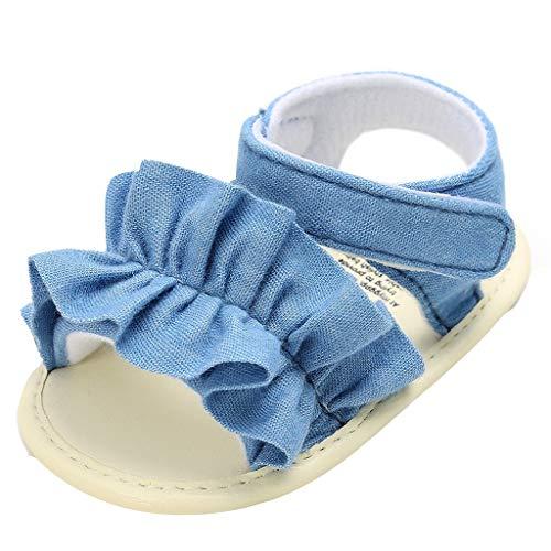 Pingtr - Baby Mädchen Sandalen Schuhe,Mädchen Sandalen Tasche Plaid weichen Boden Hausschuhe
