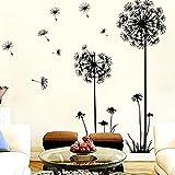 "Wall Sticker, DDLBiz® Adesivi Murales, Carta da Pareti ""tarassaco"" Decorazione Murali da Parete"