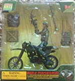 Casques bleus - Figure et accessoires - Soldat sur vélo