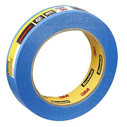 Scotch PT209024 Super Malerabdeckband, 24 mm x 50 m, Profi-Plus Qualität, blau