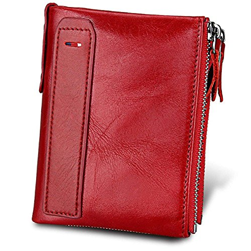 Generous Usa Oil Red Pu Leather Double Eagle Passport Holder Unisex Passport Cover Built In Rfid Blocking Protect Personal Information Card & Id Holders