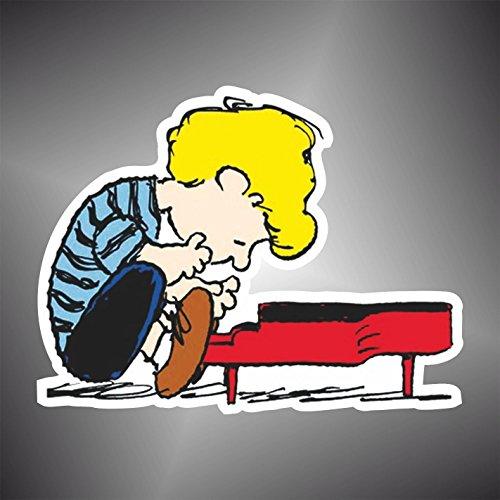 Aufkleber - Sticker Linus Peanuts Snoopy Charlie Brown Comics Cartoon Zeichentrickfilm sticker