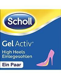 Scholl Gel Activ Einlegesohlen HighHeels und Schuhe mit Absätzen über 5,5 cm, 1 Paar