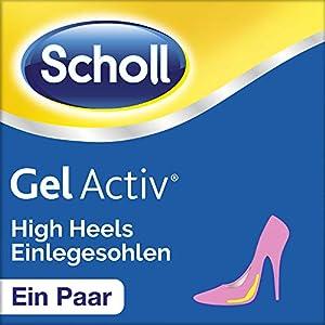 Scholl GelActiv Einlegesohlen HighHeels und Schuhe mit Absätzen über 5,5cm, 1 Paar