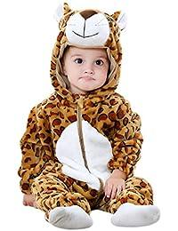 Chic-Chic Pyjama Ensemble de Pyjama Dors Bien Enfant Bébé Combinaison Hiver  Forme Animal Déguisement 771c4675731