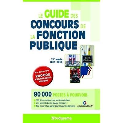Le guide des concours de la fonction publique