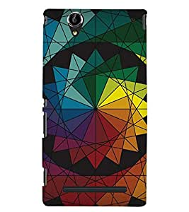 PRINTSWAG PATTERN Designer Back Cover Case for SONY XPERIA T2 ULTRA