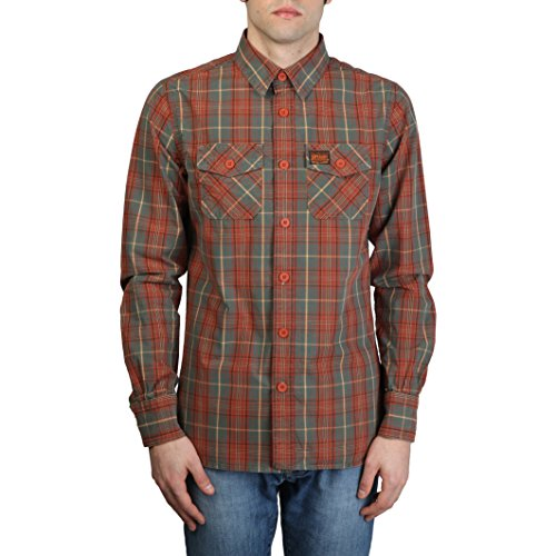 Camicie Uomo Superdry MS4HE375_BROWN Marrone Marron