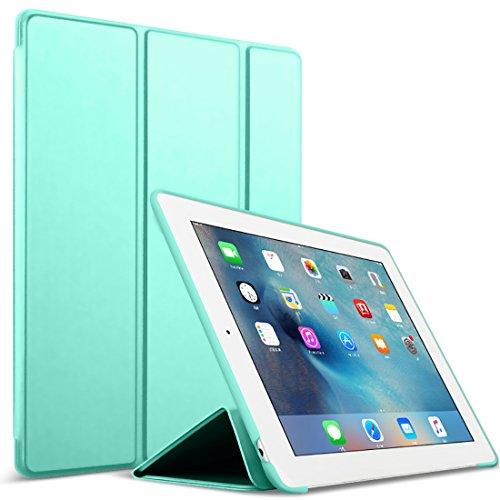 GOOJODOQ iPad 2/3/4 Hülle, PU Leder Etui Hülle Tasche mit Ständer Funktion und Eingebautem Magnet...