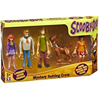 Scooby Doo Mystery Resolver Figura Crew (Pack de 5)