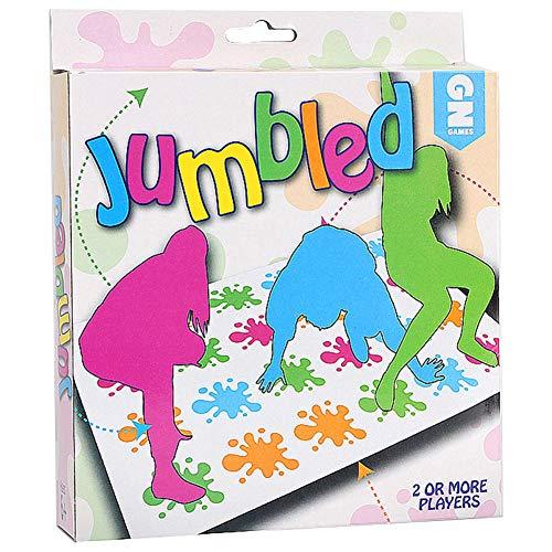SpringPear Famiglia Gioco da Tavolo Twister Tappeto Divertente Gioco per Famiglia Amici Festa Esterno Sportivo I Bambini Giocano da 6 Anni