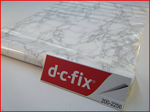 d-c-fix-autocollant-marbre-blanc-gris-clair-45-cm-x-1-m-rouleau-dos-adhesif-vinyle-2256