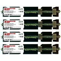 Komputerbay - Kit moduli memoria RAM da 8 GB (4 x 2 GB), ECC FB-DIMM 240-Pin, DDR2 PC2-5300, 667 MHz, per Apple Mac Pro