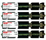 Komputerbay 8GB (4x 2GB) DDR2 PC2-5300F 667MHz CL5 ECC Fully Buffered 2Rx4 FB-DIMM (240 PIN) con dissipatori di calore per i computer Apple