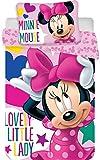 KK Disney Minnie Mouse Baby Bettwäsche 40 x 60 cm + 100 x 135 cm