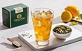 VAHDAM, Citrus Cooler Eistee   40 Portionen, 8 Quarts   100% natürliche Inhaltsstoffe   Köstliches Aroma von schwarzem Tee und Zitrone   Zitrone Eistee   Eistee Loose Leaf   3,53 Unzen (2er Set)