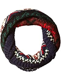 Muk Luks Women's Lodge Funnel Scarf-Traditional Marled