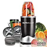 Magic Bullet 12-Piece Hi-Speed Blender(Black)