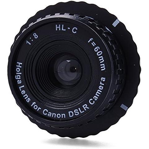 lesilverskys (TM) HL-C Holga–Obiettivo semplice obiettivo per canon eos 650d,