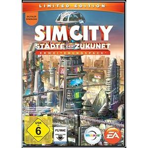 SimCity: Städte der Zukunft (Add-On) [Download-Code, kein Datenträger enthalten]