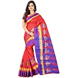 Sarees Designer Women's Cotton Silk Saree With Blouse Piece(Cotton Silk Saree)
