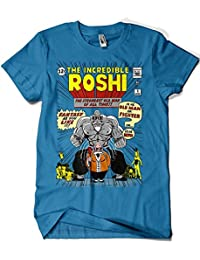 Camisetas La Colmena 4578-Camiseta Premium, The Incredible Roshi (Ddjvigo)