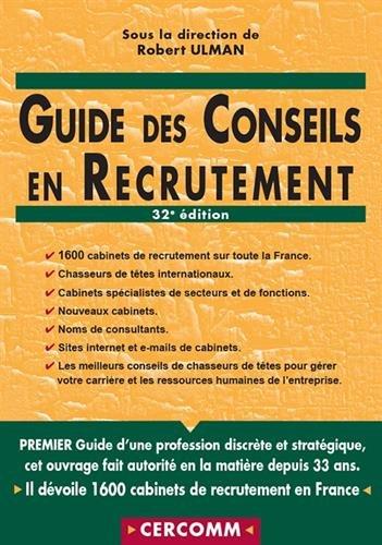 Guide des conseils en recrutement par Collectif