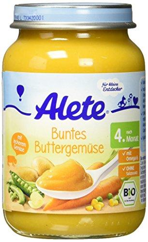 Alete Buntes Buttergemüse, 190 g