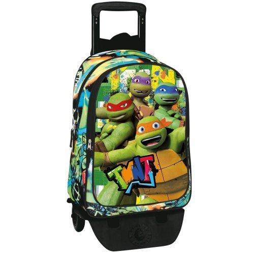 Tortugas ninja MC-53966 2018 Equipaje infantil, 50 cm, 1 litro, Multicolor
