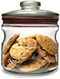 Kilner 0.65 Litre Cookie Biscuit and Dry Goods Jar with Seal Stopper Lid
