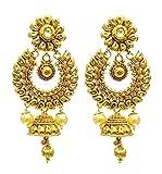 SatyamJewelleryNx Wedding Golden Earring...