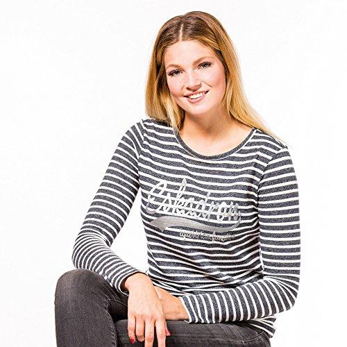 Eskadron Fanatics Shirt Women DANA longsleeve in navy striped, Größe:M, Farbe:navy striped -