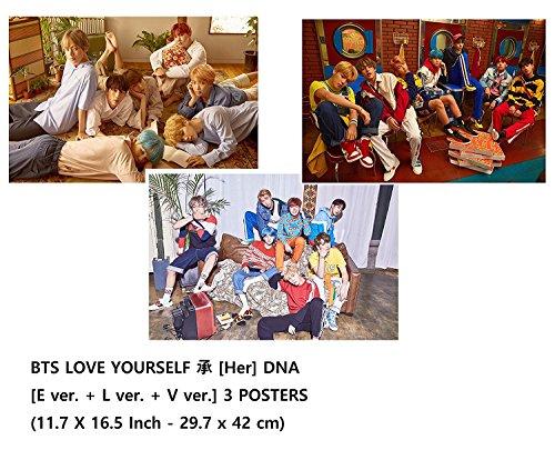 BTS - LOVE YOURSELF [Her] DNA [E ver + L ver + V ver]