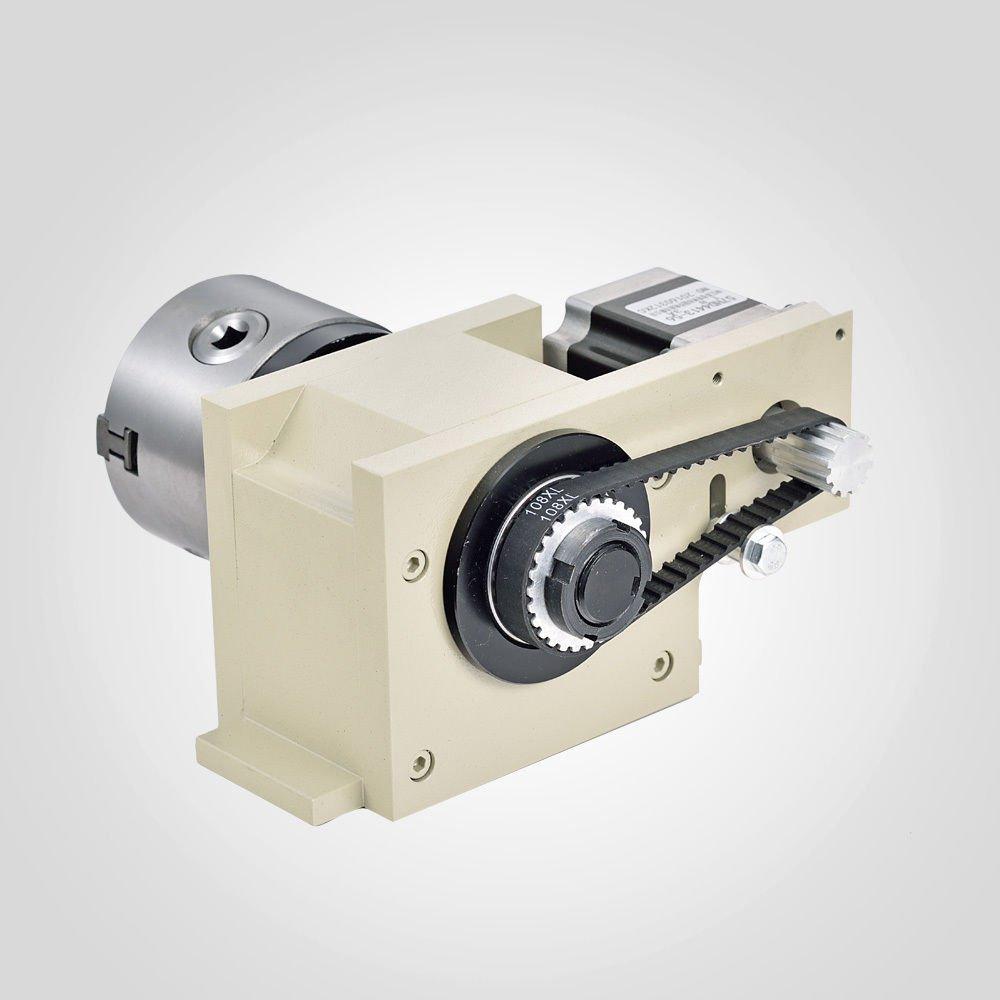 CNC Router 3040T 4 Axis Graviermaschine Fräsmaschine Spindle Graviergerät 800W